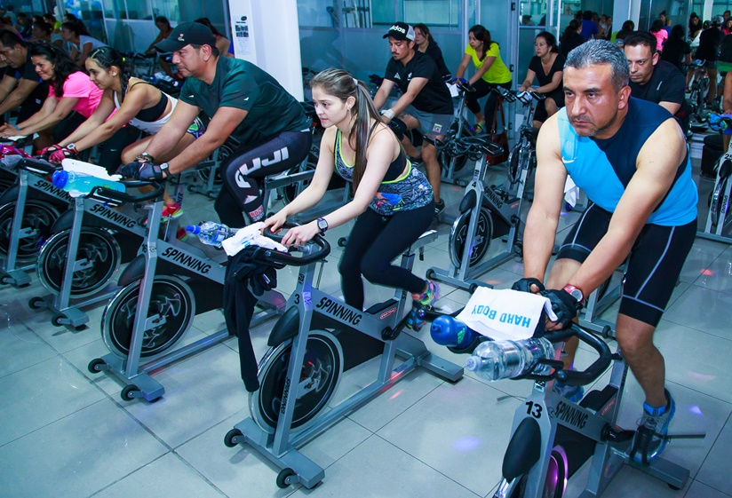 Spinning multiterreno en Hard Body